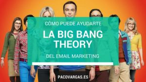 big bang theory email marketing