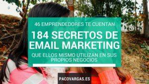 184 secretos email marketing 46 emprededores