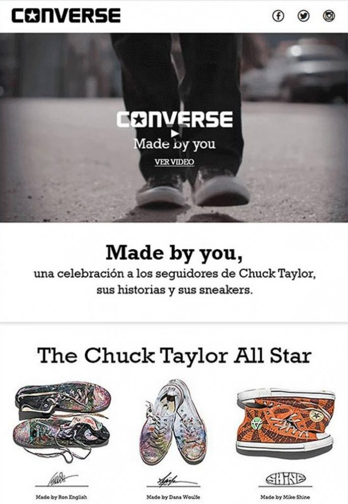 Converse-Mailing