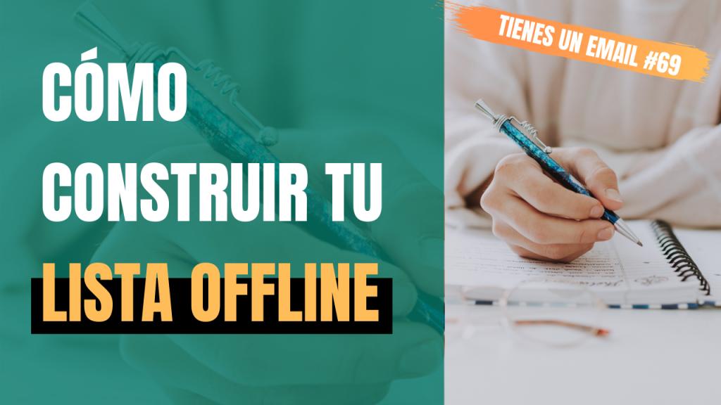 Cómo construir tu lista offline